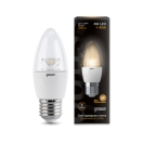 Лампа Gauss LED Candle Crystal Clear 4 Вт 103202104
